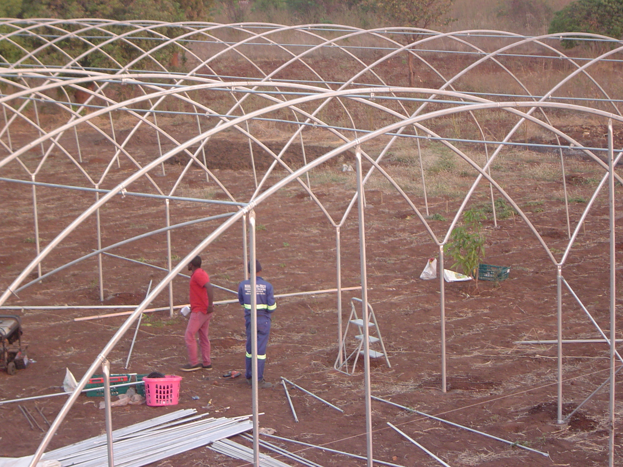 Construction of 45m x 20m Greenhouse at Vees Farm in Chileka Blantyre